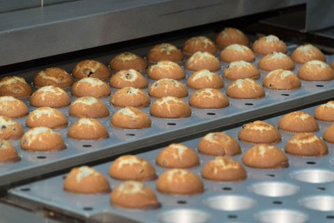 A specialty of the Auto-Bake oven is producing cupcakes, which it can produce at a rate of 25,000 per hour.